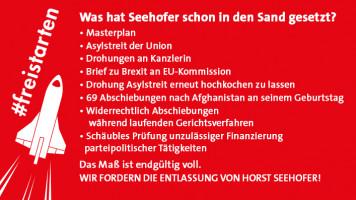 Was Seehofer bisher in den Sand gesetzt hat!