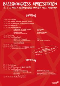 Basiskongress 2018 Programm